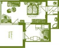 Plan Wohnung 12